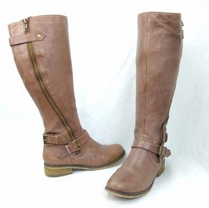 Steve Madden /// Synicle Tall Leather Boots